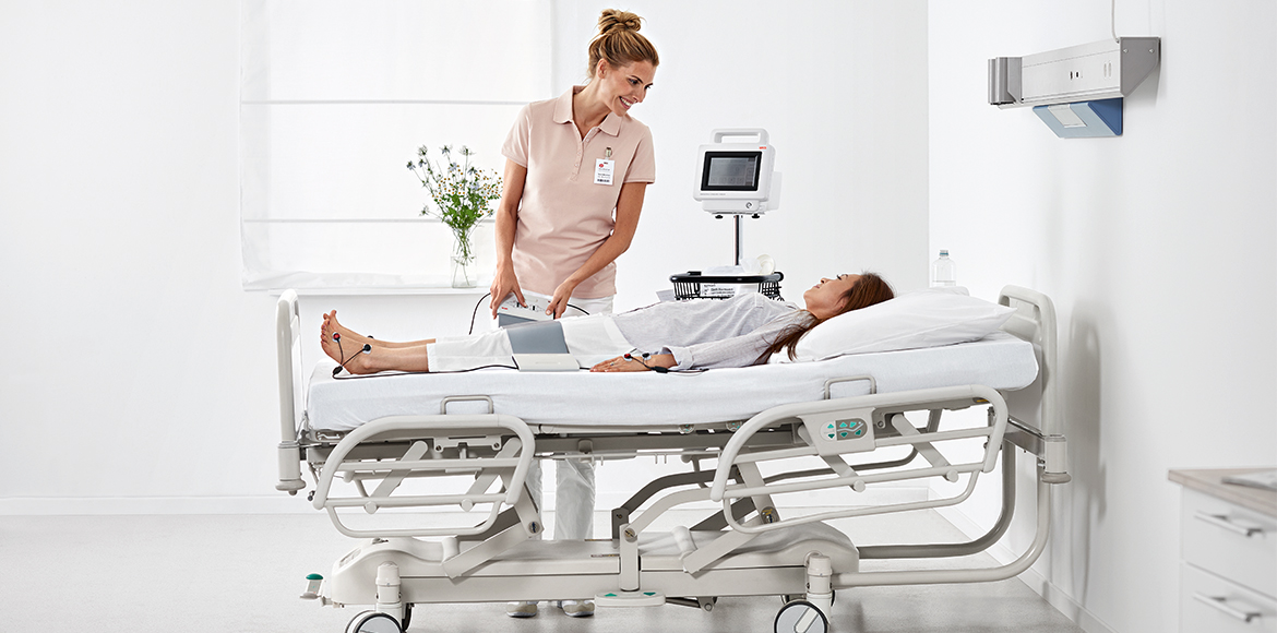 seca525 Produktseite Highlights 1170x580px hospital woman